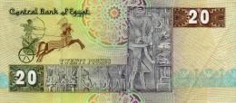 Central Bank Of Egypt - 20 - Twenty Pounds - Egypt