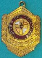 PIN-60  CUBA MEDALLA COLEGIO DEL APOSTOLADO. SCHOOL MEDALLS. EXAMENES. - Tokens & Medals