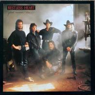 * LP *  RESTLESS HEART - FAST MOVIN' TRAIN (Germany 1990 EX-!!!) - Country En Folk