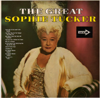 * LP *  THE GREAT SOPHIE TUCKER (UK 1966 On MCA Coral EX!!!) - Jazz