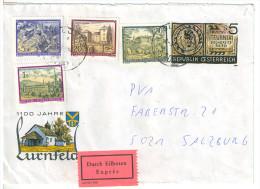 Brief, Express, Ganzsache + Zusatzfrankatur, Bludenz Nach Salzburg, 1992, (1) - 1945-.... 2. Republik