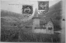 Belle CPA De Revigny ( Jura) Le Chateau Et Le Viaduc, Voyagée, Jolie Oblitérationtde Clairvaux à Lons-le-Saunier - Autres Communes