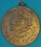 PIN-67  CUBA MEDALLA DE ESCUELA COLEGIO JESUITAS DE MERITO. SCHOOL MEDALL. - Tokens & Medals
