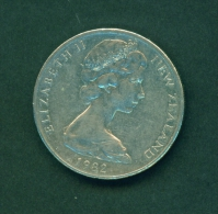 NEW ZEALAND -  1982  20c  Circulated Coin - New Zealand