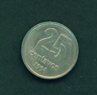 ARGENTINA  -  1994  25c  Circulated Coin - Argentina
