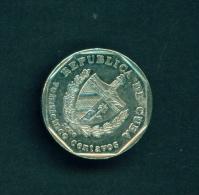 CUBA  -  2000  25c  Circulated Coin - Cuba