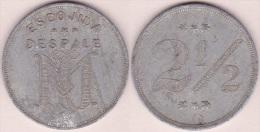 TK-327 CUBA TOKEN TOBACCO. RECOGIDA Y DESPALE DE TABACO. CONTRAMARCA G. ALUMINIUM - Tokens & Medals