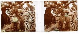 VERASCOPE  -  Soldats Derrière Le Canon -   Guerre 1914-1918 - Guerre 1914-18