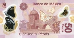 MEXICO P. 123Ak 50 P 2013 UNC - Mexique