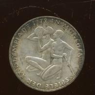 10 DM Argent   Silber   Olympique 1972 - [ 6] 1949-1990 : RDA - Rép. Démo. Allemande