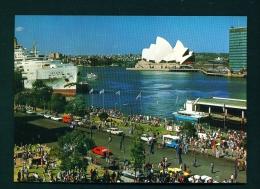 AUSTRALIA  -  Sydney  Circular Quay  Unused Postcard - Sydney