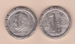 """BELGICA 1 FRANCO 1.996 KM#188 REPLICA  Colección """"LO QUE EL EURO SE LLEVO"""" SC/UNC  Réplica  T-DL-11.531 - 1993-...: Albert II"""