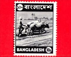 BANGLADESH - Usato - 1973 - Agricoltura - Aratura - Mucche - Farmer Plowing - 10 - Bangladesh