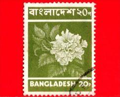 BANGLADESH - Usato - 1973 - Fiori - Hibiscus Flower - 20 - Bangladesh