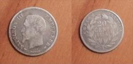 Napoléon III - 20 Centimes 1854 A - Francia