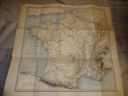 Carte Navigation Intérieure De France, Dressée Par Ordre Du Directeur Général Des Ponts Et Chaussées Et Des Mines - 1820 - Cartes Marines