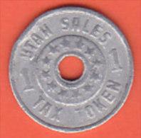 Utah Sales Tax Token - 1 Emergency Relief Fund - Monedas/ De Necesidad