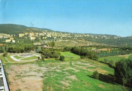 Chianciano Terme - Parco Fucoli Con Veduta Panoramica - Italia