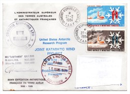 POLAIRE Expédition Antarctique - Enveloppe - TAAF : Franse Zuidpoolgewesten