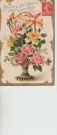 2  CPA    Roses Dans Les  Vases - Fleurs