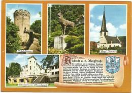 O1455 Alsbach An Der Bergstrasse - Sannatorium Hirschpark - Kirche - Schlossturm / Viaggiata 1977 - Germania