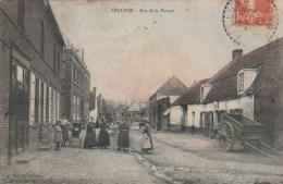 LECLUSE (Nord) - Rue De La Pompe - Animée - Colorisée - Andere Gemeenten