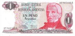 Argentina - Pick 311 - 1 Peso Argentino 1983 - 1984 - Unc - Argentine