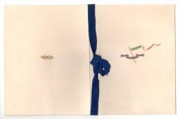 "04683 ""1932 - REGIO INCROCIATORE TRENTO - CALENDARIO CON FIRME  - LUIGI FAGGIONI M.O. AL V. M."" CALENDARIO ORIGINALE - Calendari"
