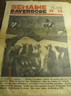 LA SEMAINE D'AVERBODE  XXIVe Année  N° 14 - 8 Avril 1934 Lettre Du Brésil: La Chasse Au Nandou - Journaux - Quotidiens