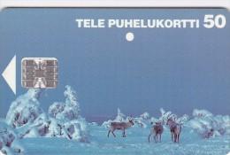 Finland, D093, Reindeer, 2 Scans.