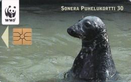 Finland, D225, Grey Seal,  2 Scans.
