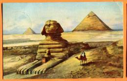 PBP-05  Cairo  The Excavated Sphinx . Used In 1929 - Le Caire