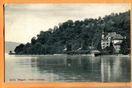 PBP-16  Weggis  Hotel Lutzelau . Gelaufen In 1910 - LU Lucerne