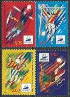 """FR YT 3074 à 3077 """" France'98, Football """" 1997 Neuf** - France"""