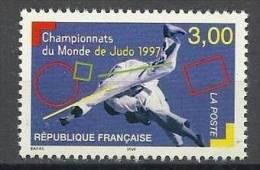 """FR YT 3111 """" Championnats De Judo """" 1997 Neuf** - France"""