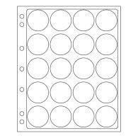 Feuilles En Plastique ENCAP Pour 15 Capsules Av.un Diamètre De L'int'rieur De 44 à 45 Mm - Supplies And Equipment