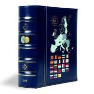 VISTA Album Euros Millésimes 2016, Avec étui De Protection, Bleu - Supplies And Equipment