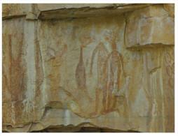 (190) Australia - NT - Katherine Aboriginal Art Rock Painting - Aborigènes