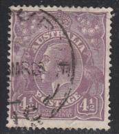 Australia 1926 Cancelled, Yellow-olive, Wmk 7, Sc# ,SG 92 - 1913-36 George V: Heads