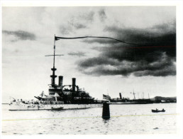 (190) US Batteship Oregon (repro) - Warships