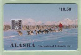 USA - Alaska - 1994 $10.50 Dog Sled - ASK-10 - Mint - United States