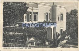 28115 ITALY MARECHIARO NAPOLI VILLA IN THE NEST POSTAL POSTCARD - Italy