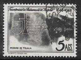 Angola, Scott # 312 Used  Restoration Anniv., 1948 - Africa (Other)