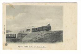 ÎLE  DE  LA  REUNION  /  PORT  /  LE  PONT  DE  LA  RIVIÈRE  DES  GALETS  ( Avec Train Et Locomotive ) - Autres