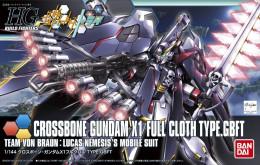 HG Build Fighters : Crossbone Gundam X1 Full Cloth Type.GBFT 1/144 ( Bandai ) - SF & Robots