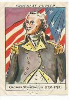 CHROMOS PUPIER - AMERIQUE DU NORD - USA - GEORGES WASHINGTON. - Chocolat