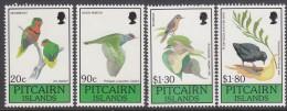 PITCAIRN Is, 1990 BIRDS 4 MNH - Francobolli