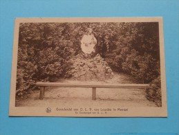 Genadendal Van O.L.V Van Lourdes Te MEERSEL - Anno 19?? ( Zie Foto Voor Details ) !! - Hoogstraten