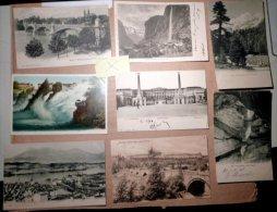 SUISSE SWISS  LOT NATURE  DE 150 CARTES POSTALES ANCIENNES - Ansichtskarten