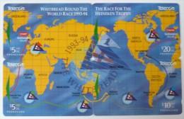 NEW ZEALAND - Whitbread Round The World Race 1993-94 - Puzzle - Set Of 4 - GPT - Mint - Neuseeland